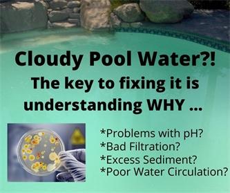 Understanding Why Pool Water is Cloudy