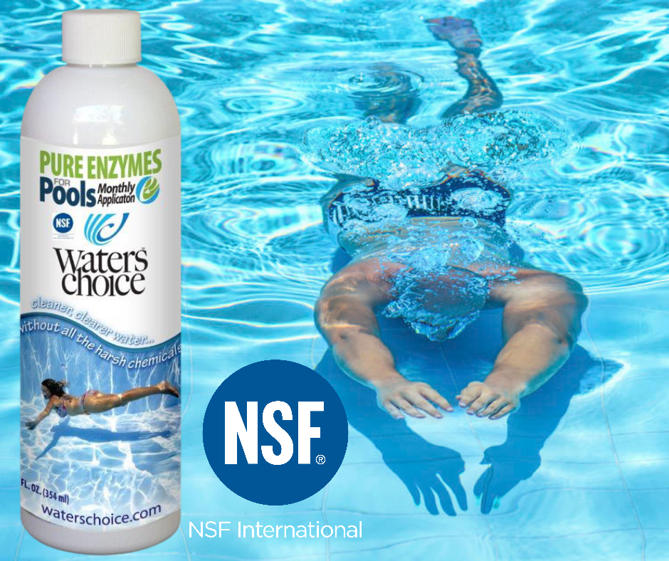Waters Choice Products are NSF Certified!